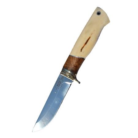 """Нож """"Дельфин"""" (х12МФ, рог)"""