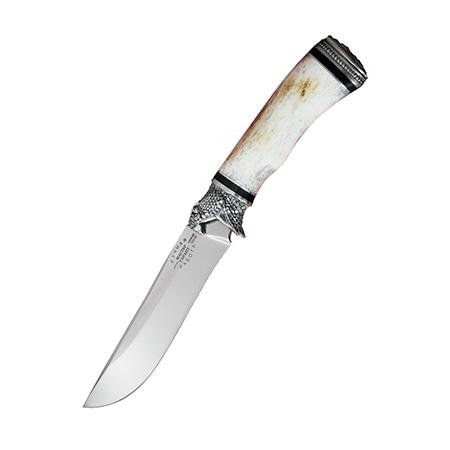 """Нож """"Вепрь"""" (95х18, кость, литье)"""