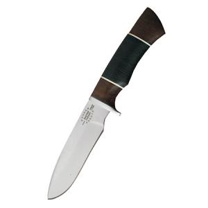 """Нож """"Кайман"""" (х12мф, кожа)"""