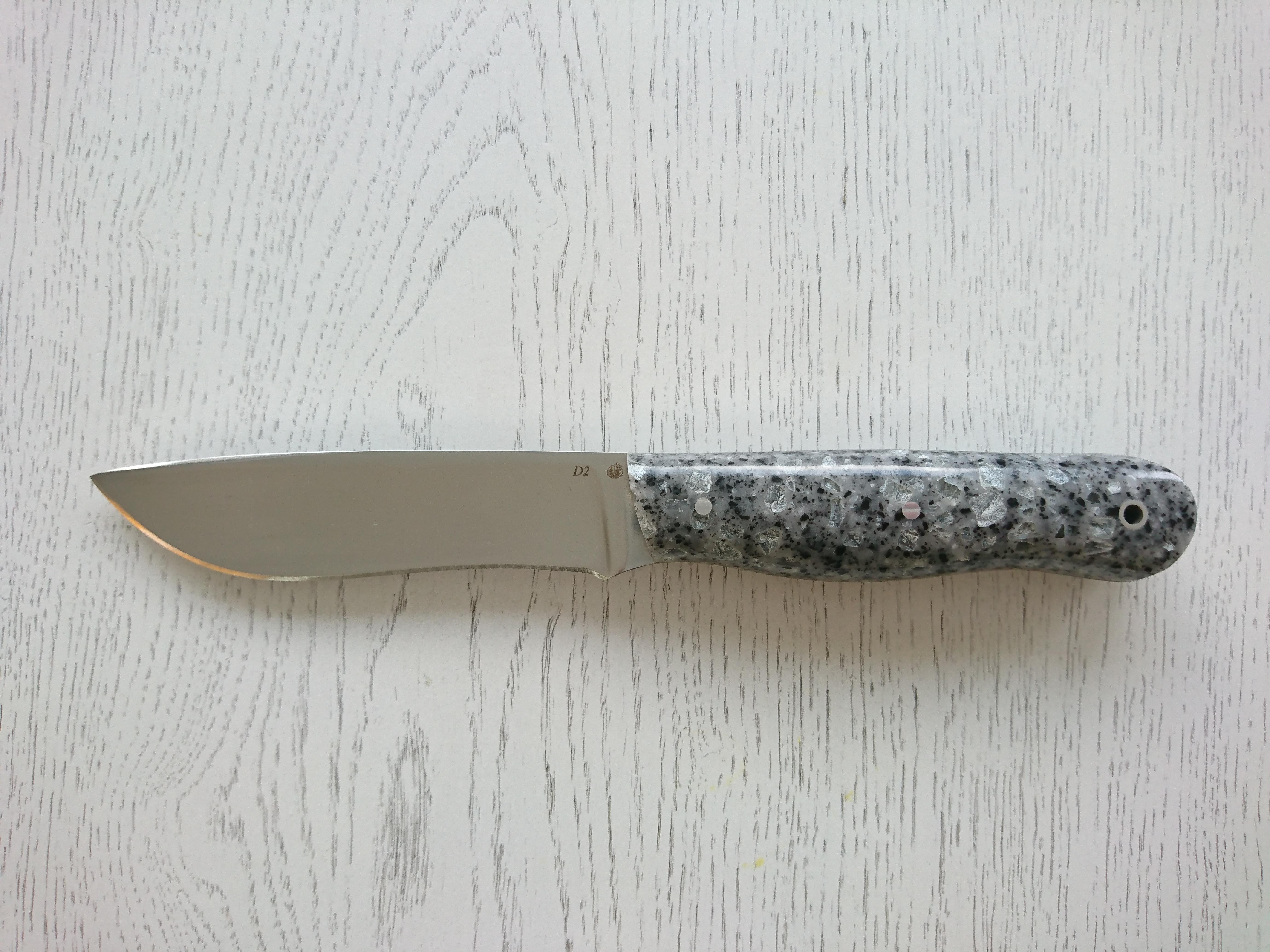 """Нож """"Охотник-1"""" (D2, акриловый композит)"""