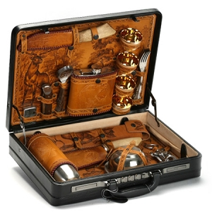 Подарочный набор в дипломате «Пикник» (на 6 персон)